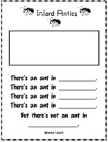 Ant writing paper
